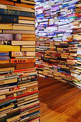 """""""Livres"""", photo de Groume dans Flickr (CC BY-SA 2.0)"""